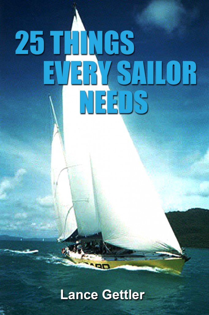 25 things every sailor needs, how to sailing, sailing books